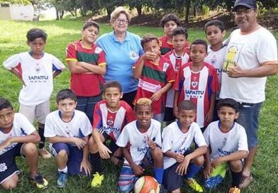 Escolinhas de Futebol Paraguaçu iniciam atividades