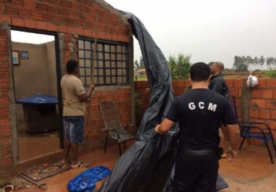 Chuva desta quinta, 21, deixa sete famílias desabrigadas em Paraguaçu