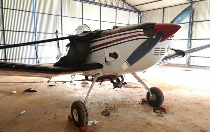 'Operação Voo Cego' da PF investiga apreensão de avião com quase 1 tonelada de maconha