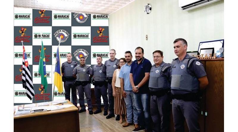 32º BPM/I e Prefeitura de Maracaí renovam Proerd na cidade