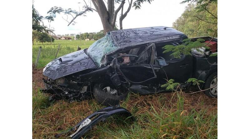 Acidente em rodovia de Tupã deixa dois motoristas feridos