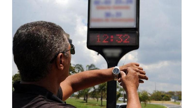 Horário de verão termina neste fim de semana em 10 estados e no DF