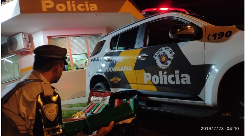 Polícia Rodoviária de Assis apreende cerca de 14 quilos de maconha na SP 270