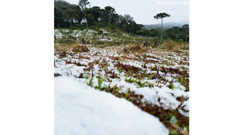 Neve e frio muito intenso à vista para o Brasil