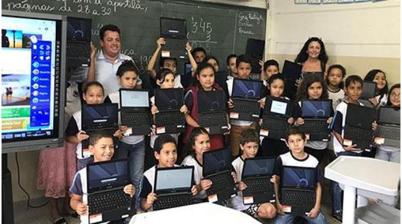Echaporã implanta método de ensino inovador, aliando tecnologia e conteúdo didático