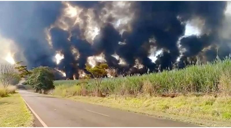 Queimadas atingem áreas rurais às margens de vicinais na região