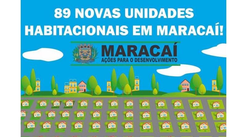 Prefeito de Maracaí assina convênio para construção de 89 casas da CDHU na cidade