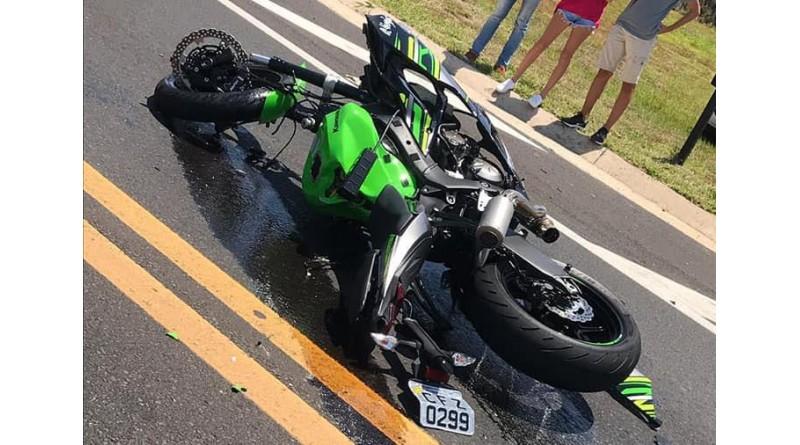 Dono do posto Alexandria morre em acidente com moto na rodovia Rachid Rayes