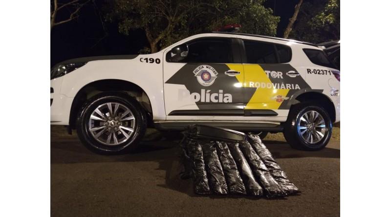 Polícia Rodoviária apreende cocaína com passageiro de ônibus em Ourinhos