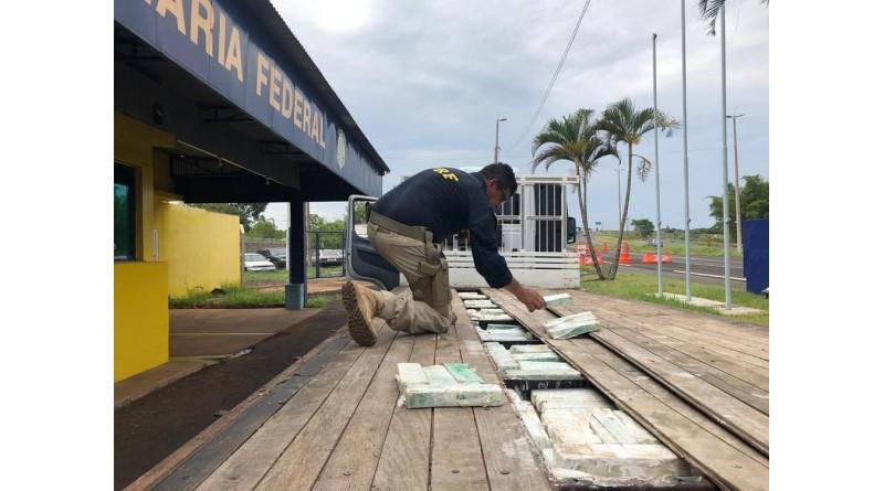 Tabletes de maconha com cheiro de sabonete são apreendidos em rodovia de Ourinhos