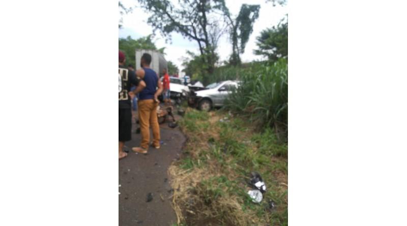 Motociclista morre após acidente entre Assis a Paraguaçu
