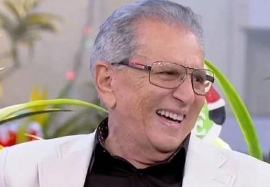 Apresentador Carlos Alberto de Nóbrega é internado com infecção após ingerir iogurte vencido