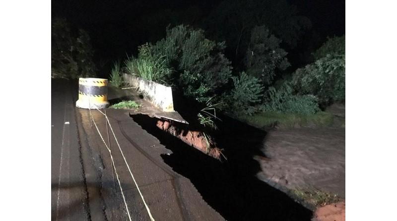 Trecho de vicinal que estava interditado após estragos da chuva é liberado