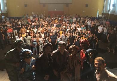 Cia. Bambolina lota Cine Teatro Lucila Nascimento com a peça 'O Pretendente'