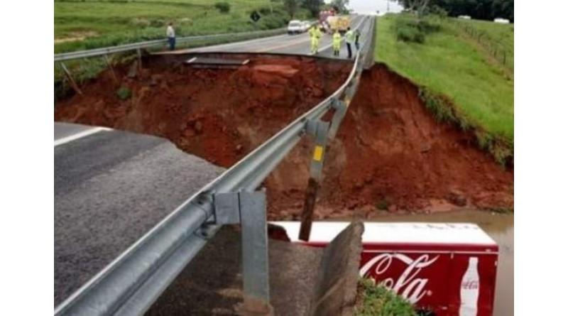 Defesa Civil alerta para estradas interditadas na região