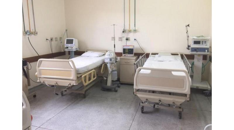 Hospital de Paraguaçu tem leitos para receber os pacientes com agravos respiratórios pelo Covid-19