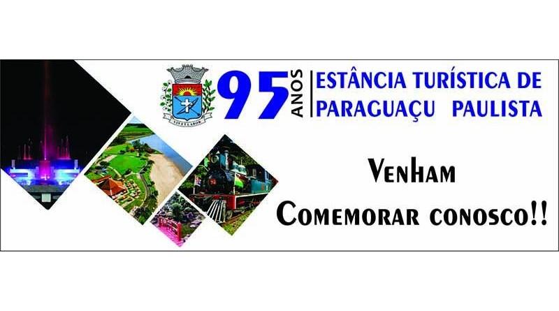 Prefeitura realizará Festa de Aniversário dos 95 anos de Paraguaçu Paulista