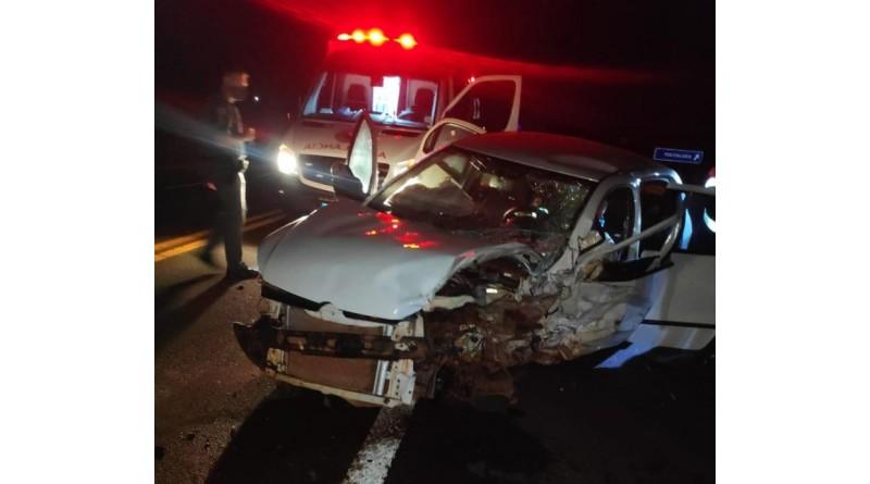 Motorista embriagado se envolve em acidente na entrada de Paraguaçu Paulista