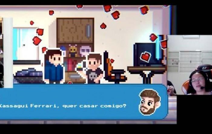 Morador de Tupã cria game para pedir namorada em casamento