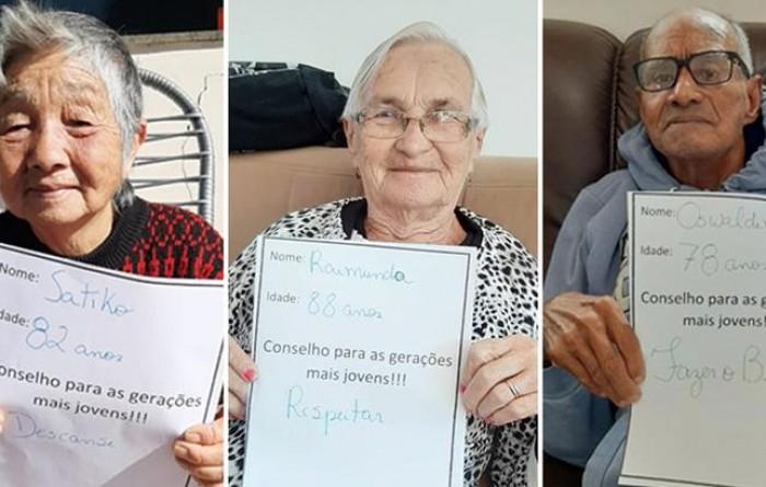 Moradores de lar para idosos escrevem conselhos a jovens: 'Têm muito a ensinar'