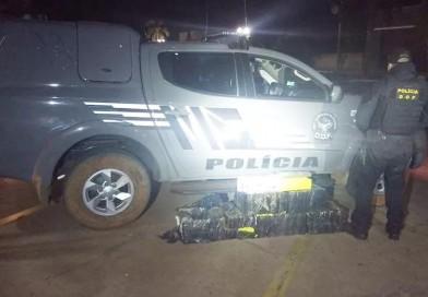 Motorista da prefeitura de Paraguaçu é exonerado após ser flagrado com mais de 130 quilos de maconha