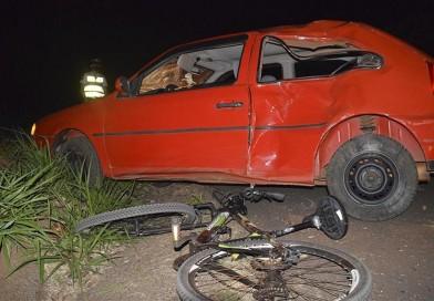 Motorista é preso por embriaguez após atropelar casal de ciclistas em Paraguaçu Paulista