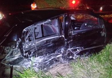 Motorista embriagado provoca acidente e três pessoas ficam feridas na SP-294 em Quintana