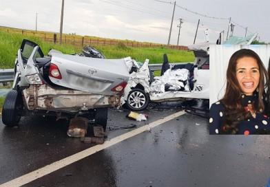 Paraguaçuense morre e filha de 8 anos está em estado grave após acidente em rodovia de Marília