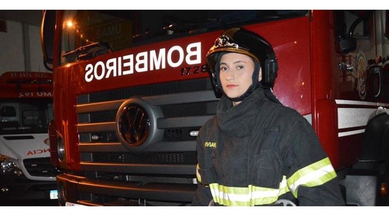 Conheça a primeira bombeira militar de Paraguaçu Paulista