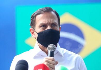 Doria anuncia vacinação de policiais e professores em São Paulo