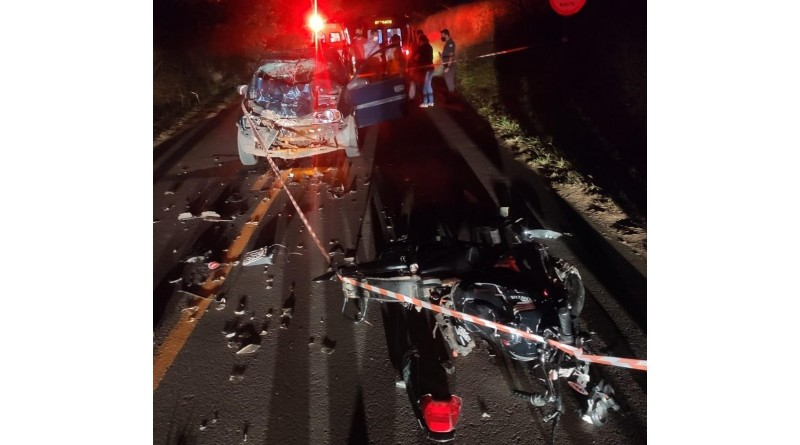 Acidente em vicinal mata motociclista de 19 anos entre Marília e Vera Cruz