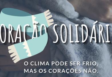 Campanha solidária vai arrecadar cobertores e alimentos
