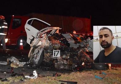 Motorista morre após colisão entre carro e carreta na rodovia Paraguaçu/Quatá