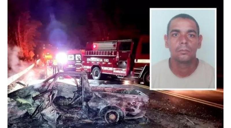 Após três meses, vítima carbonizada em acidente com cinco mortos é identificada e enterrada em Quatá