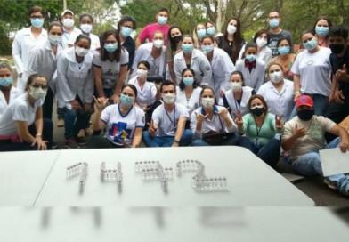 Mega drive contra a Covid-19 vacina quase 1500 pessoas