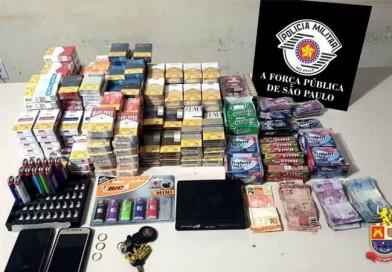 Polícia Militar prende autor do furto ocorrido em padaria e prende drogas em Campos Novos