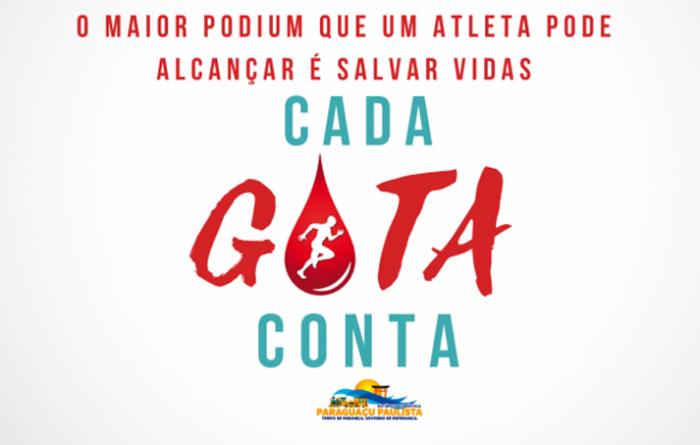 Campanha do Esporte sensibiliza para doação de sangue