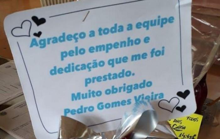 Morador homenageia motoristas da Saúde de Paraguaçu