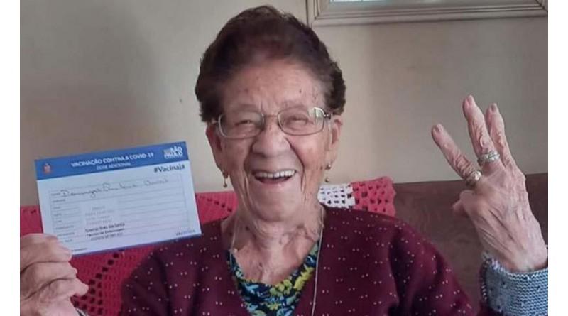 Paraguaçu inicia dose de reforço nos idosos