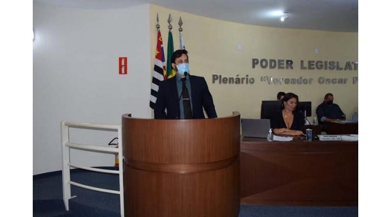 Projeto de autoria do vereador e presidente Júnior Baptista é aprovado na Câmara