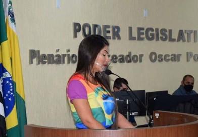 Câmara rejeita projeto de autoria da vereadora Vanes Generoso
