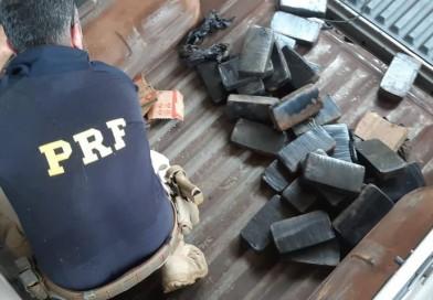 Polícia Rodoviária Federal apreende mais de 30 quilos de pasta base de cocaína em Lins