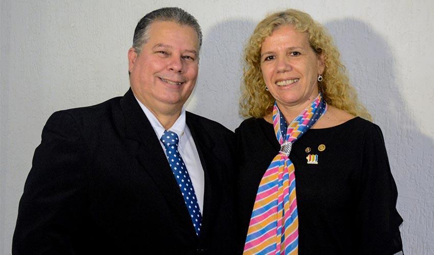 Rotary Club e a Casa da Amizade empossam nova diretoria para o biênio 2020/2021